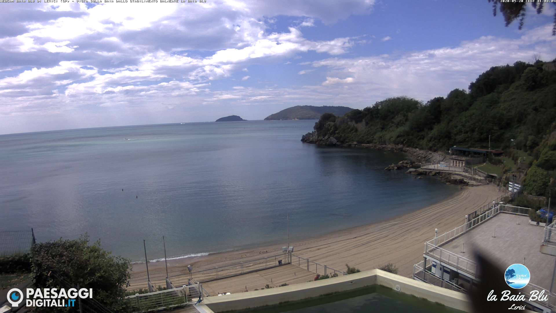 webcam Baia Blu